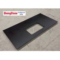 Buy cheap Custom Black Corrosion Resistant Epoxy Resin Lab Countertops For Analysis Room product