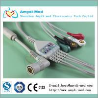 Buy cheap COLIN ecg cable,one-piece ecg cable,material TPU product