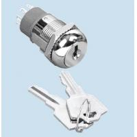 Buy cheap 19mm Security Power Switch Key Lock On /Off Key Lock Switch with keys from wholesalers