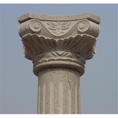 Construction Of A Stone Pillar : Stone column marble pillar