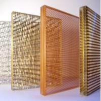 Buy cheap Fabric mesh laminated glass-for interior decoration from wholesalers
