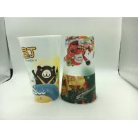 Custom Promotional 3D Lenticular Cup Food Grade , Plastic Drinking Cups