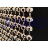Buy cheap Faceted Nickle Coated Beaded Room Dividers Hanging With 9.25mm Metal Beads product