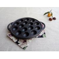 Buy cheap Octopus Small Balls Shrimp Egg Mold Meatballs Iron Pan Grill Cast Iron Barbecue Tray Household from wholesalers