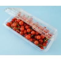 Buy cheap Disposable Fruit Container Plastic Clamshell plastic packaging for fruit 250Gram from wholesalers