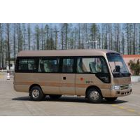Buy cheap Coaster Type Diesel 19 Seater Minibus With Yuchai Engine YC4FA115-20 from wholesalers