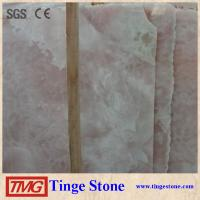Buy cheap good price pink onyx slab/ pink marble slab/ pink marble stone from wholesalers