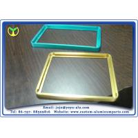 Buy cheap Color Anodized Aluminum Extrusion Profiles In Tv And Display Frame from wholesalers