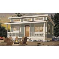 Buy cheap Prefab House Kits Prefabricated House Kit , Small Villa Design / Wpc Wall Clading from wholesalers