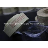 Buy cheap Heat Insulation Cigarette Machine Kevlar Fabric Tape High Temperature Resistance product