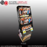 Buy cheap PDQ pop display stand with hooks for hang stools from wholesalers