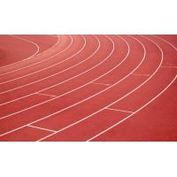 Buy cheap 13mm Spray Coat Rubber Running Track Surface , Epdm Jogging Track 1.22m*13mm from wholesalers