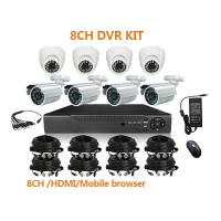 Buy cheap 8ch H.264 DVR KIT,Mobile phone view, Support web client from wholesalers
