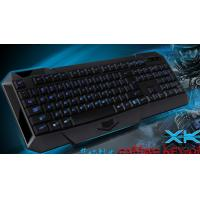 Buy cheap The 2013 new fashionable waterproof gaming keyboard with blue laser back light from wholesalers
