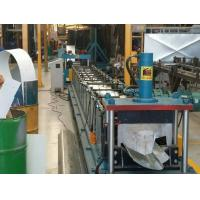 Buy cheap Water Gutter Cold Metal Roll Forming Machines , Three Phases Roll Former Machine product