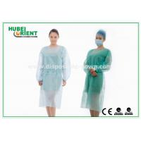 Buy cheap Medical Protective Clothing / Blue Yellow Surgical PP Isolation Gown from wholesalers