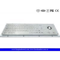 Robust Panel Mount Industrial Metal Keyboard With Flat Keys