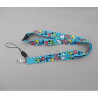 Buy cheap Cute cartoon design children kid's polyester neck strap lanyard with phone string holder, from wholesalers
