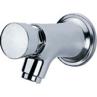 Buy cheap Water Saving Chrome Self Closing Faucet Taps Wall Mounted for Home Hotel , HN-7H05 from wholesalers