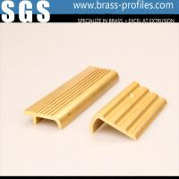 Buy cheap Metal Stair Edge Nosing Sheet Copper Alloy Stair Strip for Floor Edge from wholesalers