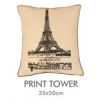 Buy cheap 100% Polyester Decorative Printed Cushion Covers Removal Zipper , Office Auto Seat Cushion from wholesalers