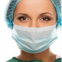 Buy cheap Easy Degradation Medical Breathing Mask , Disposable Protective Mask Light product