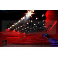 Buy cheap 4D movie theater , thrilling movie , drastic movement of motion chair product
