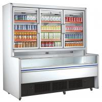 Buy cheap Retail Commercial Beverage Display Refrigerator With 3 Glass Doors from wholesalers