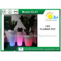 Buy cheap IP68 Waterproof LED Flower Pot , Smart Controlled Changing Colored Pool Lights from wholesalers