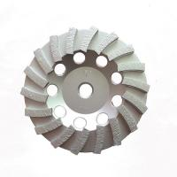 Buy cheap Double Turbo Metal Bonded Diamond Grinding Wheel For Concrete Surface Grinding from wholesalers