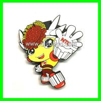 Buy cheap Manufacture and custom complicated multi-color cartoon figure animal people shape fridge magnets from wholesalers