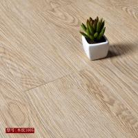 Buy cheap High strength high flexibility wood grain uv coating embossed PVC vinyl flooring planks from wholesalers