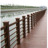 Buy cheap No toxic wood plastic composite WPC Fence Panels , railing With polishing treatment from wholesalers