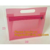 Buy cheap Fashion ladies travel bags PVC makeup Bag Pouches Tote Clear Transparent Cosmetic Travel Bag For Sale bagplastics bageas from wholesalers