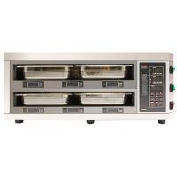 Buy cheap Counter Type 2 Layer 4 Tray Food Warmer Cabinet LED Digital Display Independent Timer Setting from wholesalers
