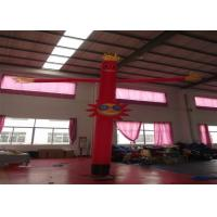 Buy cheap Nylon Advertising Inflatable Air Dancer Man 4m , Inflatable Advertising Balloons from wholesalers