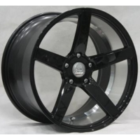 Buy cheap BC62 BENZ TOYOTA AUDI MAZDA KIA 19*8.5 20*9 10.5 Deep Concave cast wheel Black rim from wholesalers