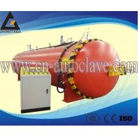 Buy cheap Heating oil heating is manually opening rubber roller autoclave vulcanization electric steam autoclave from wholesalers