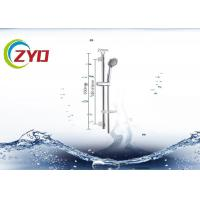 Buy cheap Bathroom Toilet 201 Stainless Steel Adjustable Shower Set System Panel Sliding Bar With Soap Dispensor  Hand Shower from wholesalers