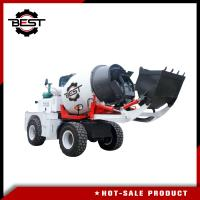 Buy cheap Factory price cement mixer 2.5 cubic meters self loading concrete mixer truck from wholesalers