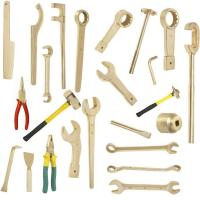 Buy cheap Non sparking construction open spanner with pin from wholesalers