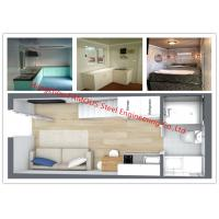 Buy cheap Luxury Decoration Prefab Modular House Building With Bathroom / Kitchen / Washbasin / Bedroom from wholesalers