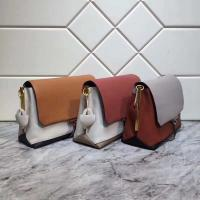 Buy cheap New Color Collided Shoulder Bags  All Cowhide Original Hardware Inner Space Fully Adjustable Shoulder Strap from wholesalers