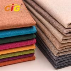 Buy cheap 100% Polyester Sofa Upholstery Fabric , Plain Jacquard Emboss Printing Fabric product