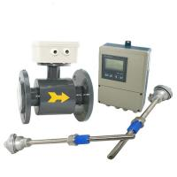 Buy cheap IP65 / IP67 / IP68 Divided Type Electromagnetic Flow Meter in High temperature product