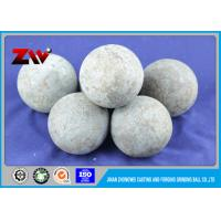 Buy cheap Industrial Low Chrome cast grinding steel balls for poland cement Plant from wholesalers