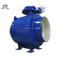 Buy cheap Worm Fully welded ball valve ,ball  valve,welding ball valve from wholesalers