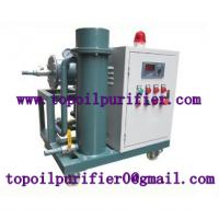 Buy cheap Dirty turbine oil filtration machine,break emulsification,separate water,gas,purified oil can be reused as new from wholesalers