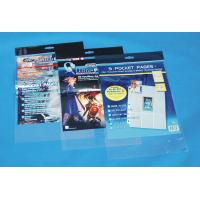 Buy cheap Portable Clear OPP Head Card Bag With Self-adhesive Tape from wholesalers