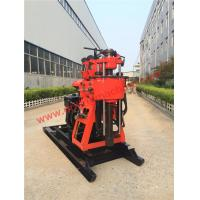 Buy cheap 200m Depth Soil Investigation Core Drilling Machine / Rock Drilling Rig 22hp Diesel Engine from wholesalers